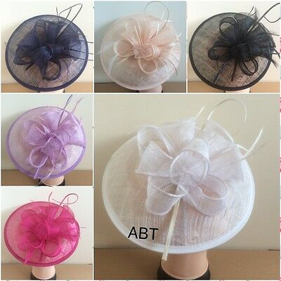 Large Headband And Clip Hat Fascinator Weddings Ladies Day Race Royal Ascot • 14.99£