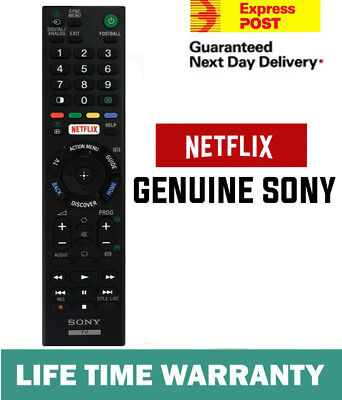AU32.90 • Buy Genuine Sony Bravia Tv Netflix Universal Remote