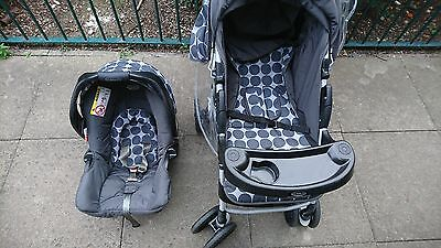 Travel System Graco, Pram, Push-chair • 110£