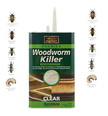 Brand New Woodworm Killer Fast And Effective Treatment For Wood-Worm 250ml • 9.99£