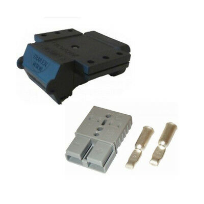 AU24.50 • Buy Anderson Plug 50 Amp And Cover External Mounting Bracket With LED Indicator