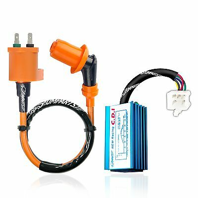 Derestricted Racing Cdi Ignition Coil Honda Spree Nq50 Aero Nb50 Elite  • 17.95$