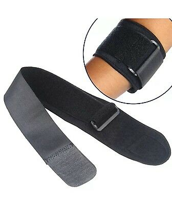 Tennis / Golfer Elbow Strap Epicondylitis Wrap Support Lateral Pain Syndrome New • 2.90£
