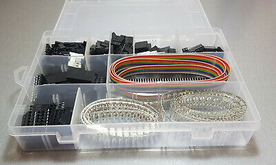 AU38.45 • Buy 1550pcs Dupont Connector Housing Kit And M/F Crimp Pins Wire Jumper Pin Header