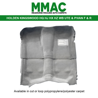 AU140 • Buy Moulded Car Carpet (g28) Holden Kingswood Hq Hj Hx Hz Wb Ute & P/van F & R