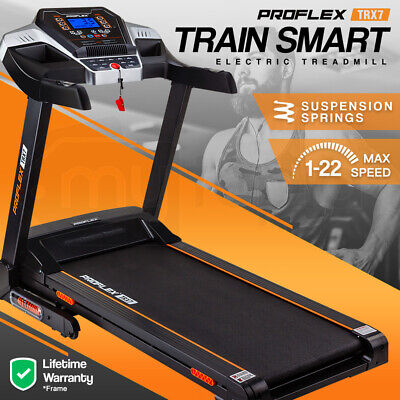 AU663 • Buy 【EXTRA15%OFF】PROFLEX Electric Treadmill Exercise Machine Fitness Home Gym