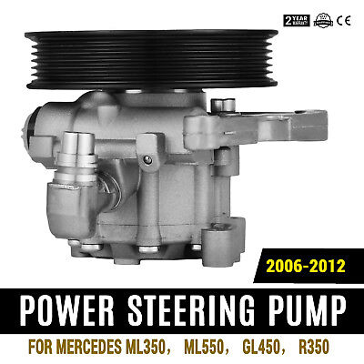 Power Steering Pump For Mercedes-Benz ML350 ML550 GL450 R350 Good Local Hot • 42.72$