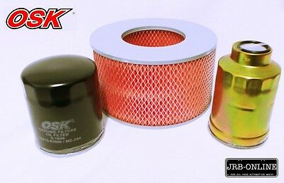 AU41.35 • Buy Suits TOYOTA HILUX LN167 S2-3 DIESEL 3.0L 5LE AIR OIL FUEL FILTER SERVICE 99-05