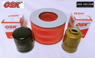AU40.43 • Buy Suits: TOYOTA HILUX LN172 S2-3 DIESEL 3.0L 5LE AIR OIL FUEL FILTER SERVICE 99-05