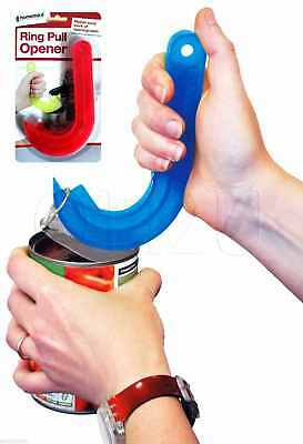Jar Can Ring Pull Opener Gripper Disability Aids Tin Drink Lid Puller Easy Edge • 2.99£