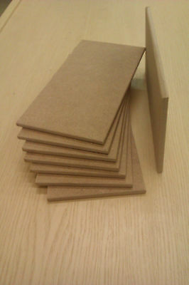 Wooden MDF Blank Plaques Or Signs,With Or Without Holes 200mm X 100mm X 6mm • 5.25£