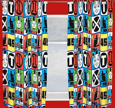 Thomas The Tank Engine And Friends Team Curtains • 13.95£
