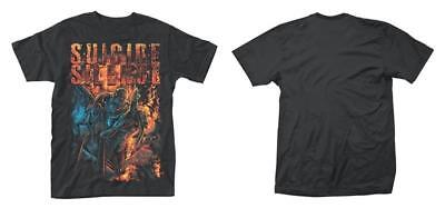 Official Licensed - Suicide Silence - Zombie Angst T Shirt - Metal Deathcore • 11.99£