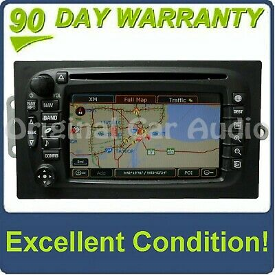 $231.20 • Buy 03 04 Chevy SUBURBAN TAHOE GMC YUKON GPS NON-LUX Navigation LCD Screen CD Player