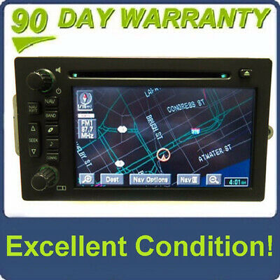 $242.10 • Buy Cadillac Chevy Navigation GPS BOSE LUX Radio CD Player Stereo Display 15230099