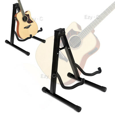 AU19.25 • Buy Portable Folding Electric Acoustic Bass Guitar  Frame Floor Rack Holder Stand A