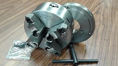 AU298.88 • Buy 6  4-JAW SELF-CENTERING  LATHE CHUCK W. Top & Bottom Jaws W. D1-4 Adapter-new