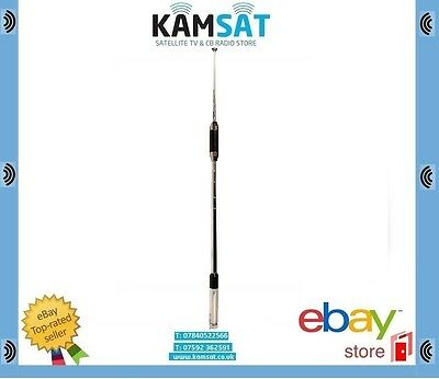 CB CENTRE LOAD TELESCOPIC ANTENNA DUAL BAND 144/430MHz RH770 CONNECTOR BNC • 24.99£