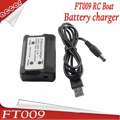 AU12.59 • Buy 2S Lipo Battery Charger 7.4V With LED Indicator Light For FT009 Racing Boat AU