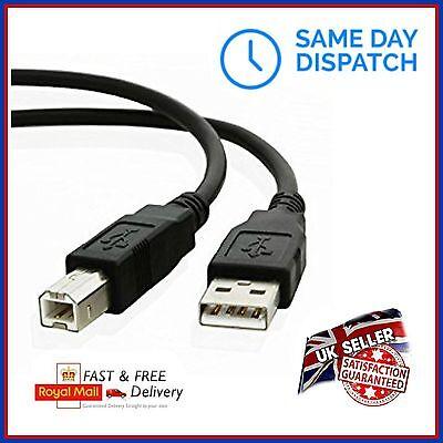 USB 2.0 Cable Power Lead Connector For MIDI Keyboard Controller Computer Laptop • 3.99£
