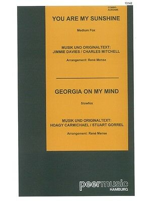 You Are My Sunshine Georgia On My Mind Combo Learn To Play MUSIC BOOK Score • 12.99£