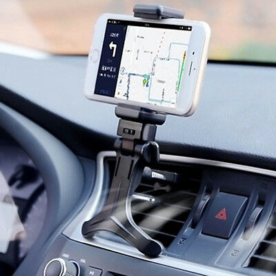 $4.14 • Buy Car Accessories Air Vent Mount Cradle Holder Stand For Mobile Smart Cell Phone