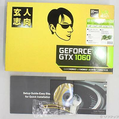 $ CDN456.58 • Buy Professional-oriented Video Card GEFORCE GTX 1060 Equipped With GF Japan NEW