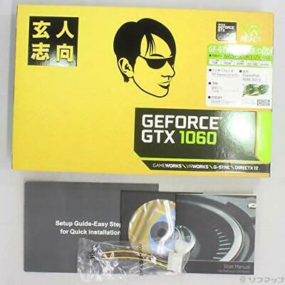 $ CDN471.43 • Buy Professional-oriented Video Card GEFORCE GTX 1060 Equipped With GF Japan NEW