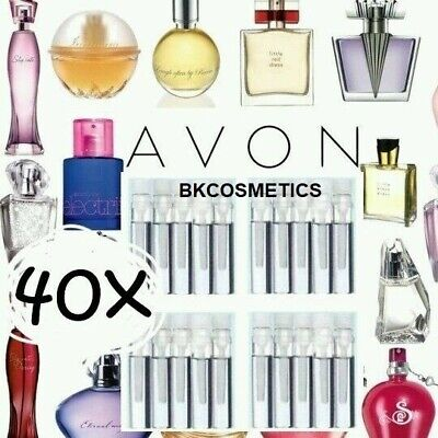 ☆40☆ Avon Ladies/ Womens Fragrance Perfume EDT Samples Assorted  NOT IN BOTTLES  • 5.90£