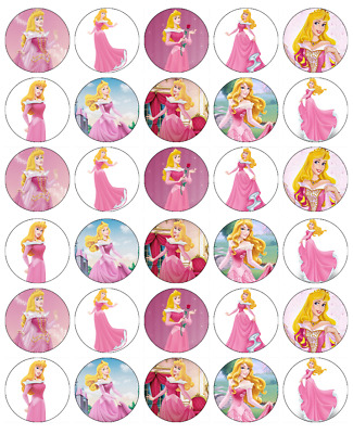 £2.25 • Buy Disney Princess Aurora X30 Cupcake Toppers Edible Wafer Paper Fairy Cake Toppers
