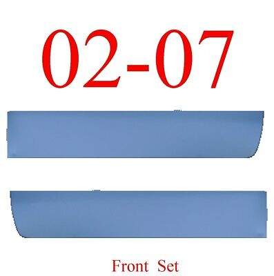 $89 • Buy 02 07 Jeep Liberty Front Lower Door Skin Set Outer Panel 0486-171, 0486-172