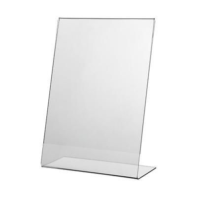 10 X A4 Acrylic Poster Menu Holder Single Sided Display Stand • 26.99£