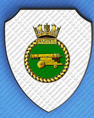 £29.99 • Buy Hms Warspite Wall Shield