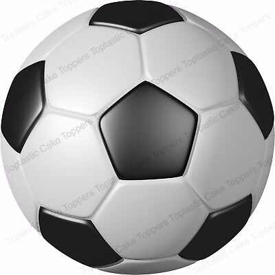 £4.15 • Buy Football Sport Ball Background Pattern Edible Icing Party Cake Topper