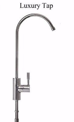 £17.95 • Buy Luxury Chrome Or Brushed Steel Faucet Tap For Drinking Water Filter 1/4
