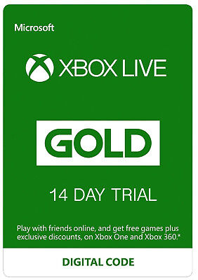 $43.46 • Buy Xbox Live 14 Day Gold Membership Code Xbox One Fast Dispatch