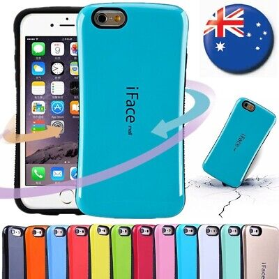 AU11.99 • Buy For IPhone 6/ 6s/ 7/ 8 Plus Hard Case Cover Back Bumper Shockproof Apple IFace