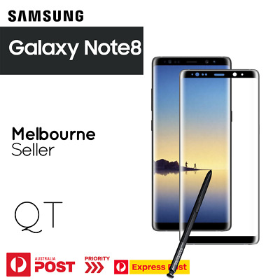 AU2.99 • Buy GENUINE Tempered Glass Screen Protector For Samsung Galaxy Note 8 CASE FRIENDLY