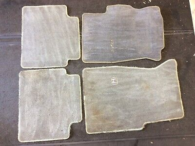 $49 • Buy 96 97 98 99 00 Civic 2DR Set Of Gray Carpets Floor Mats Floormats Rugs Used OEM