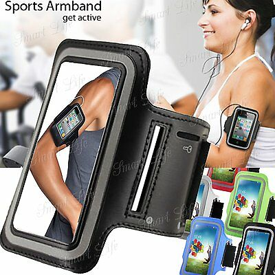 Sports Running Jogging Gym Armband Case Cover Pouch Holder For Apple, Samsung • 2.98£