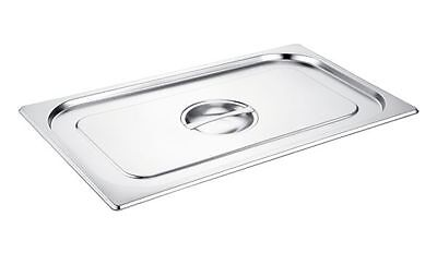 £7.99 • Buy Bain Marie Gastronorm Pan Stainless Steel Lids / Gastronorm Pan Lids