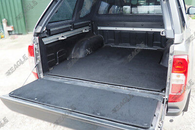 For Nissan Navara NP300 2016 On Carpet Boot Mat And Tailgate Section Dog Mat • 71.76£