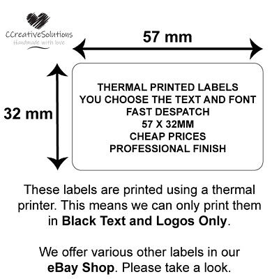 £2.38 • Buy Personalised Business Stickers / Labels, Company Promotion Logo Badge Address