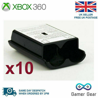 £6.55 • Buy Xbox 360 Controller Battery Cover Back Shell - 10 Pack Black
