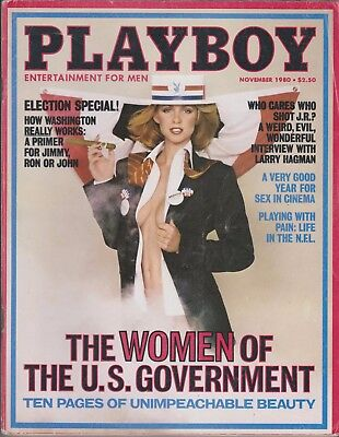 $ CDN7.05 • Buy Playboy November 1980-a – Jeana Tomasino – Larry Hagman – Sex In Cinema !!!