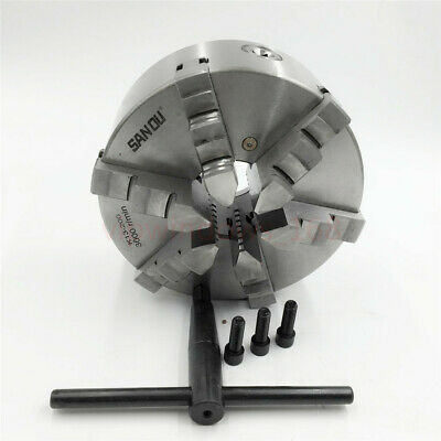 AU429.90 • Buy 200mm 6-jaw 8'' Lathe Chuck Self-Centering For CNC Drilling Milling Machine New