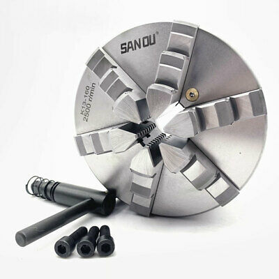 AU320.91 • Buy Self-Centering 160mm 6-jaw Lathe Chuck 6'' For CNC Drilling Milling Machine CNC