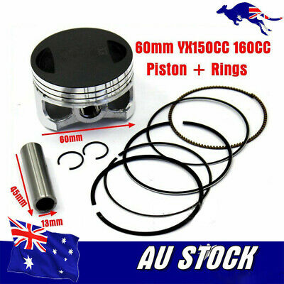 AU43.46 • Buy Piston Kit For YinXiang YX160 Engine 60mm Piston/Ring/13mm Pin/Snap Rings