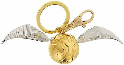 $8.99 • Buy Harry Potter  Golden Snitch   Pewter Key Chain Key Ring Hogwarts