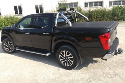 £460 • Buy Soft Roll Up Tonneau Cover And Roll Bar Combo For Nissan Navara NP300 2016+